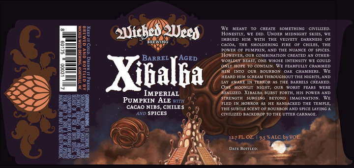 Wicked Weed Barrel Aged Xibalba