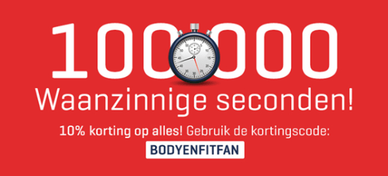 kortingscode body en fit shop fan 10%