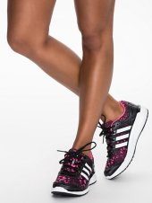 adidas sportschoen sneakers print zwart roze - nlysport collectie - workout gear - trendy sportkleding - be fit and fashionable