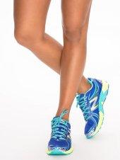 new balance sportschoen sneaker blauw geel - nlysport collectie - workout gear - trendy sportkleding - be fit and fashionable