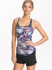 print top paars zwart - nlysport collectie - workout gear - trendy sportkleding - be fit and fashionable