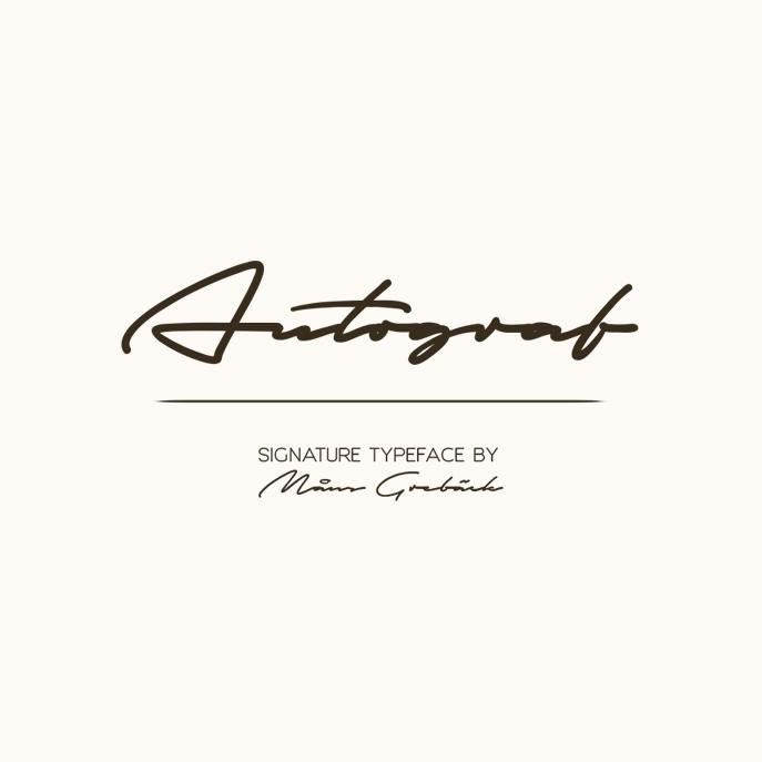 Autograf Font Download