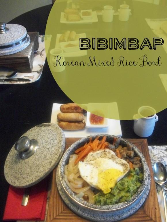 Bibimbap - Korean Mixed Rice. Before3pm.com