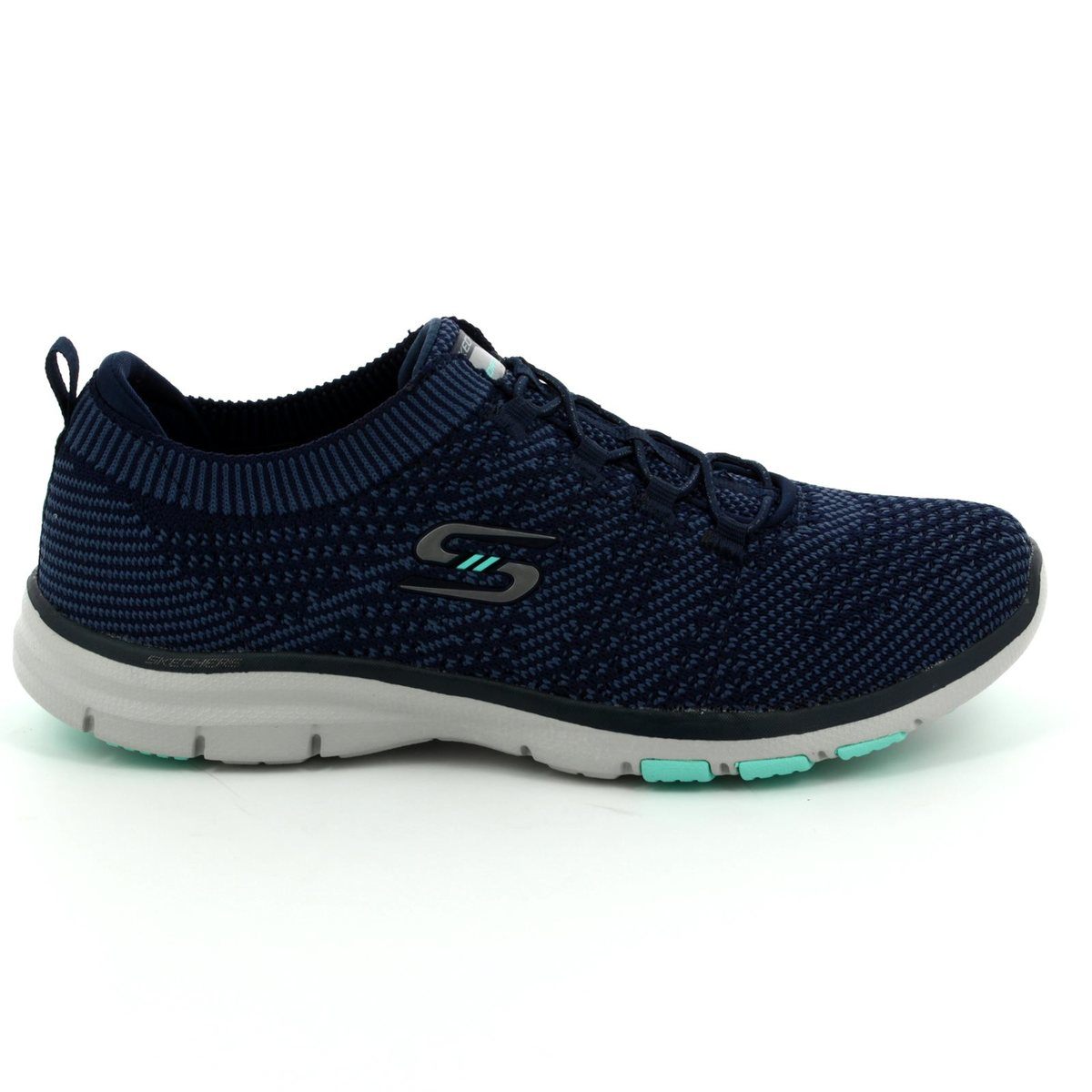 Egg Pram Boots Skechers Galaxies 22882 Nvbl Navy Blue Trainers