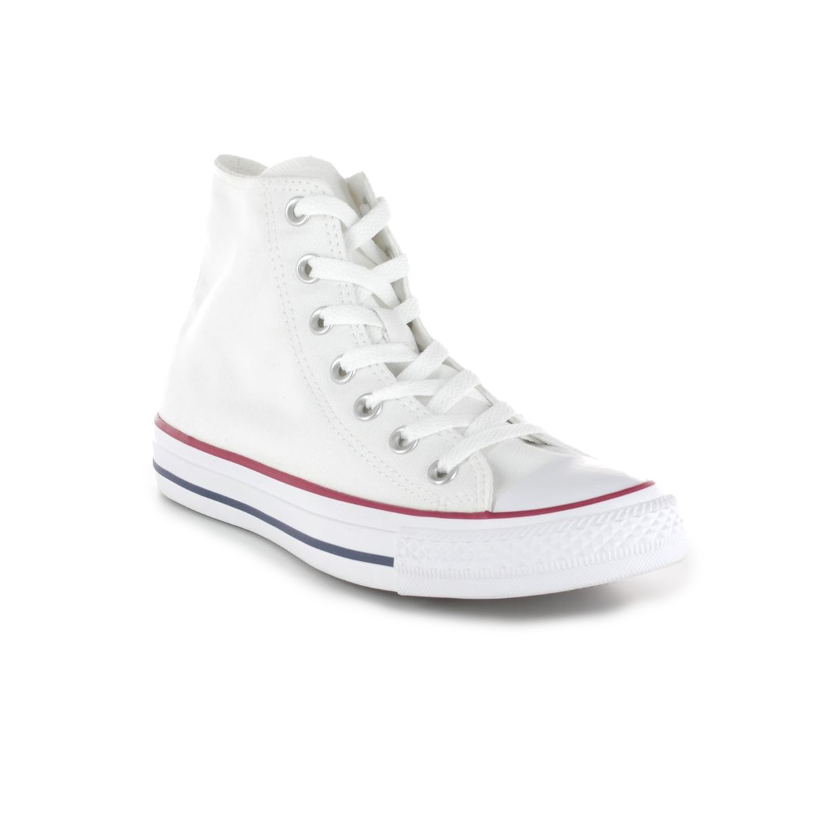 Baby White Converse Pram Shoes M7650c All Star Hi Top Optical White