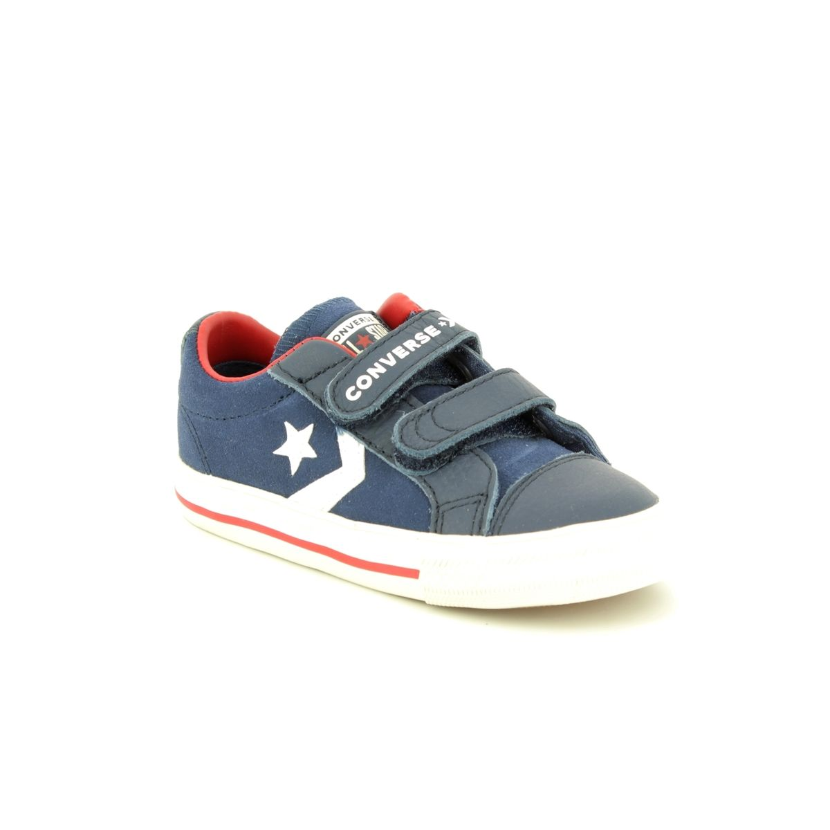 Baby White Converse Pram Shoes 762767c Star Player Velcro At Begg Shoes Bags