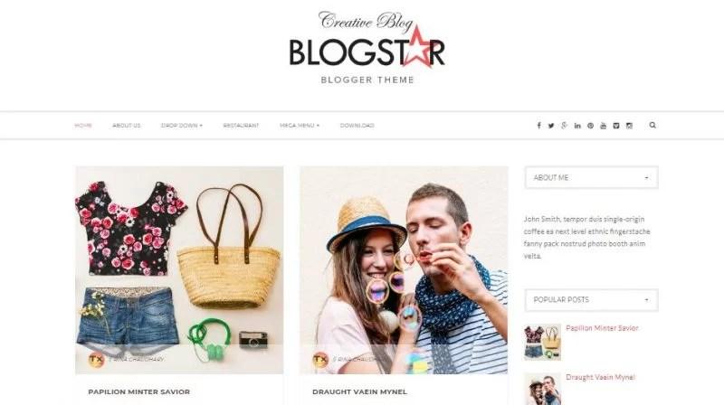 100 Best Free Responsive Blogspot Templates 2019