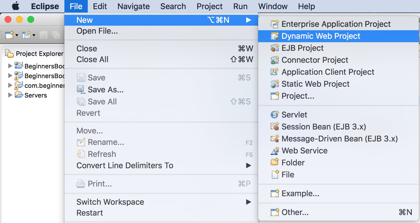 How To Create And Run Servlet In Eclipse Ide - File Server Java Program