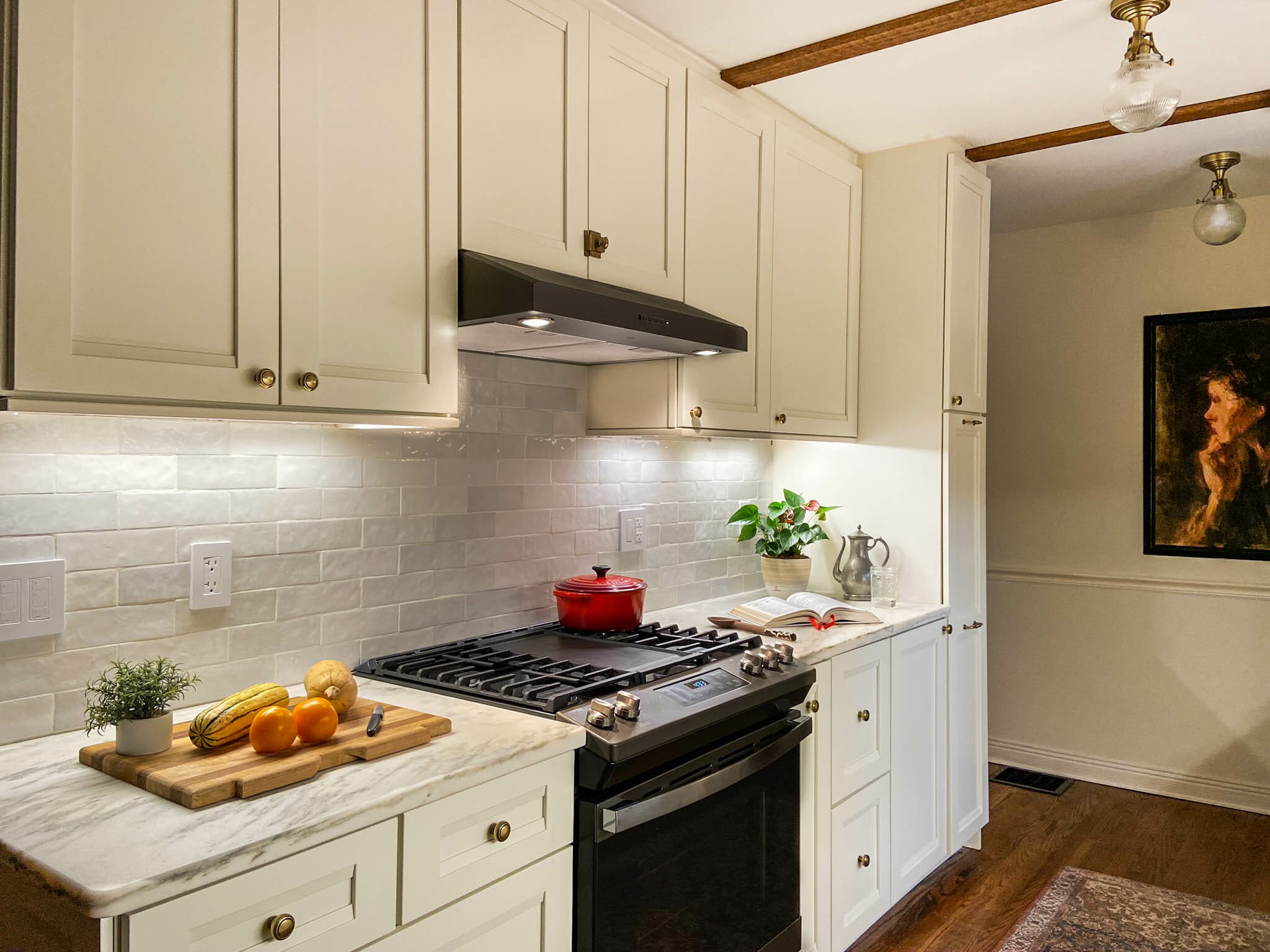 Before After Kitchen Reveal At White Cape Cottage
