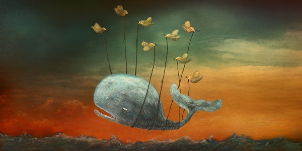 Aquatic superstar rising (falling?)... Just one of the great fanart images at www.failwhale.com.