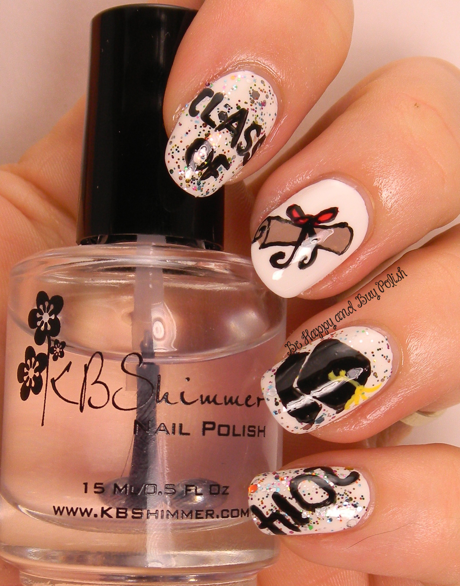Celebrate The Occasion Nail Art Challenge Graduations