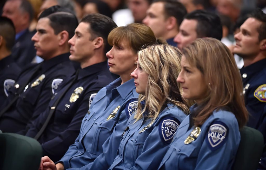 Behind the Badge - Fountain Valley Officer Rick Nilos eulogized as a