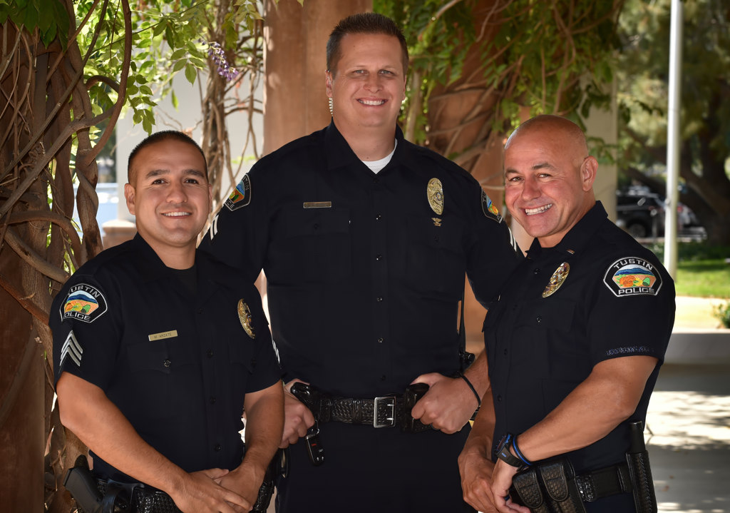 Behind the Badge - Tustin PD to formally promote three officers to