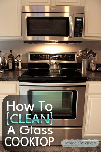 Home Made Cleaning Diy – How To Clean Your Glass Cooktop With