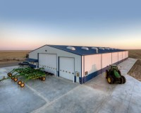 Jeff Unruh Farm Shop & Storage Building  Behlen Building ...