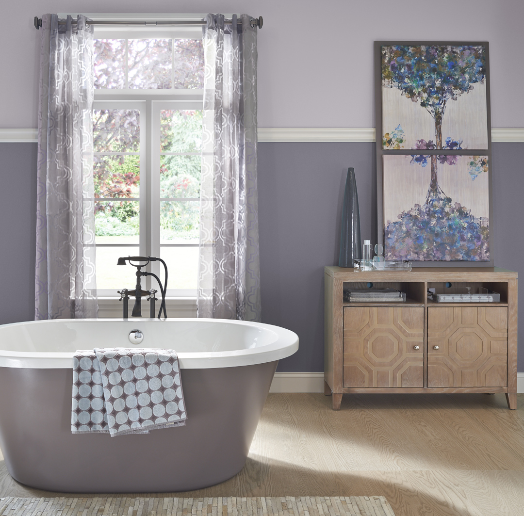 Calming Bathroom Ideas And Inspirational Paint Colors Behr