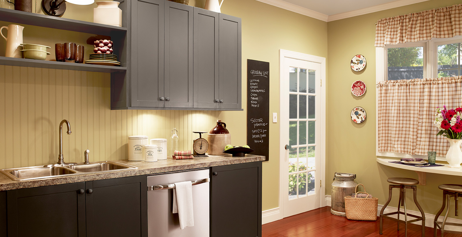 Friendly Kitchen Colors Ideas And Inspirational Paint Colors Behr