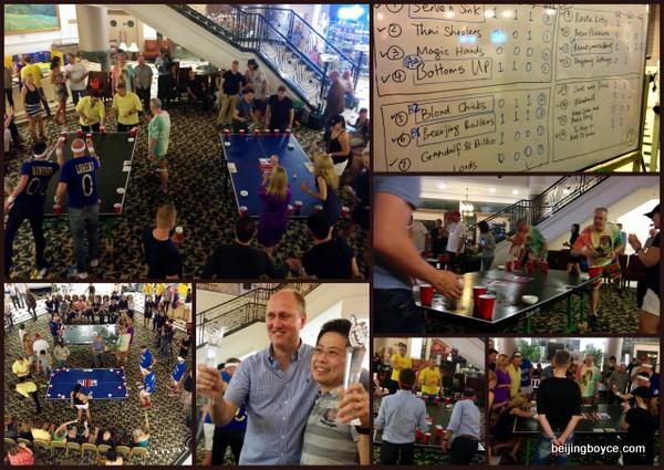 International Beer Pong Championship at Beijing Riviera China 2015 (2)