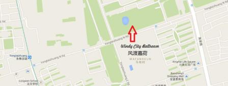 windy city ballroom map beijing china