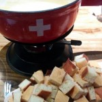 Cheese fondue is one of the must-have items at Swiss Taste.