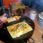 Chicken bing is prime street food at 4 AM. Near the NE corner of Workers Stadium.