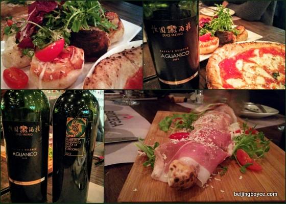 Tasty eats at Bottega.