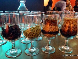 Bell Banger beer tasting with Chris DaBreo and Andres Quiro at Cafe de la Poste Beijing China (2)