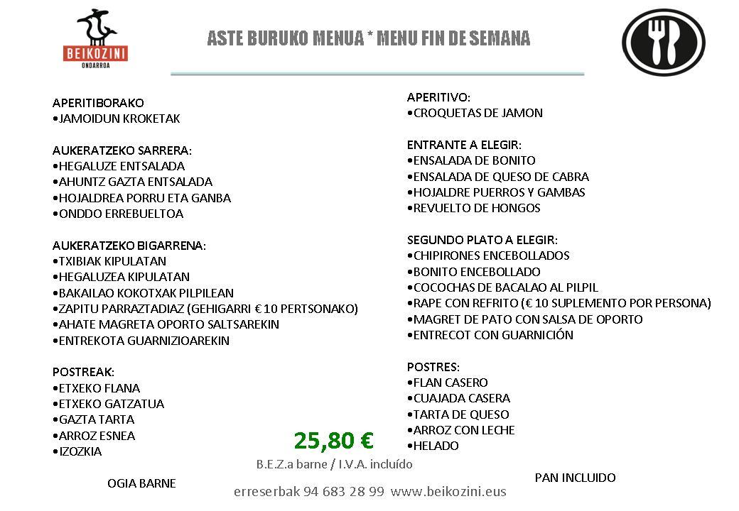 2.-ASTE BURUKO MENUA