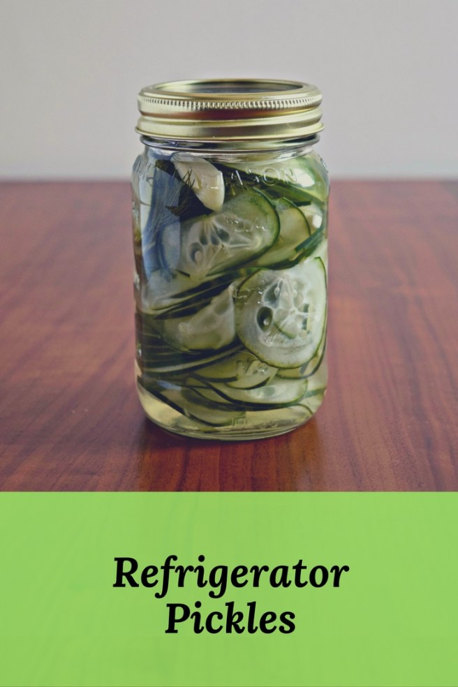Homemade Quick Pickles - A super simple recipe for all your leftover cucumbers!