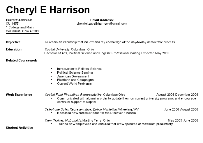 resume for a teenager first job how to create a resume for a teenager 13 steps