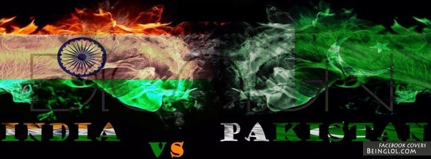 Pakistan Vs India Facebook Cover Timeline Banner Photo For