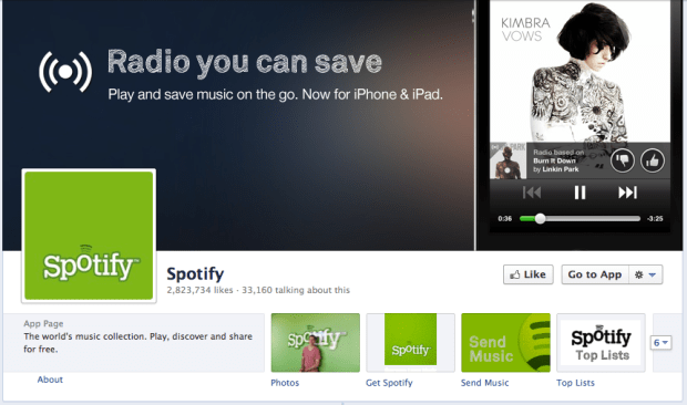 Spotify Facebook Cover Photo