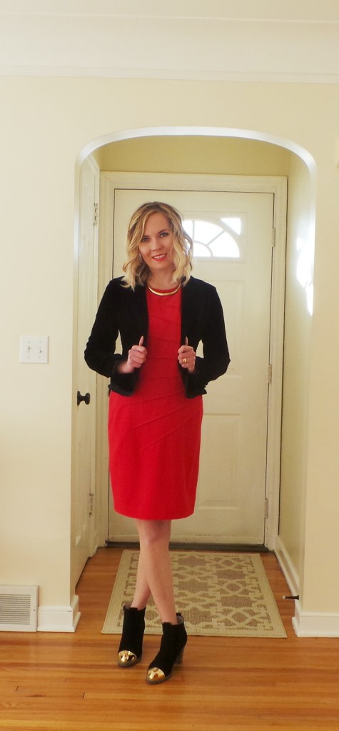 Red-and-black-outfit