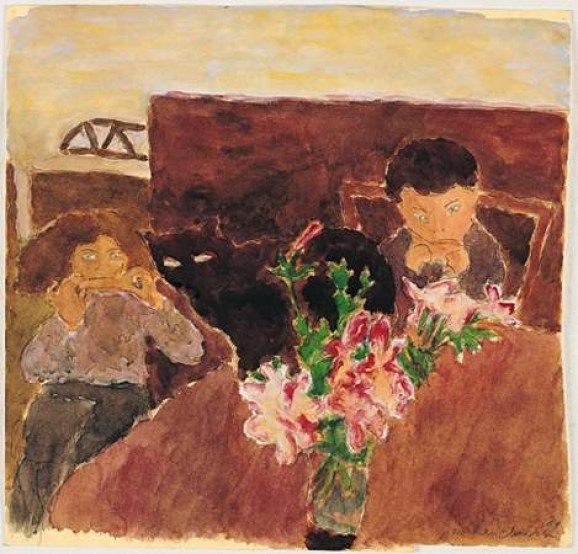 phoca_thumb_l_4.Mirinka and Motinka, Breakfast, 1984