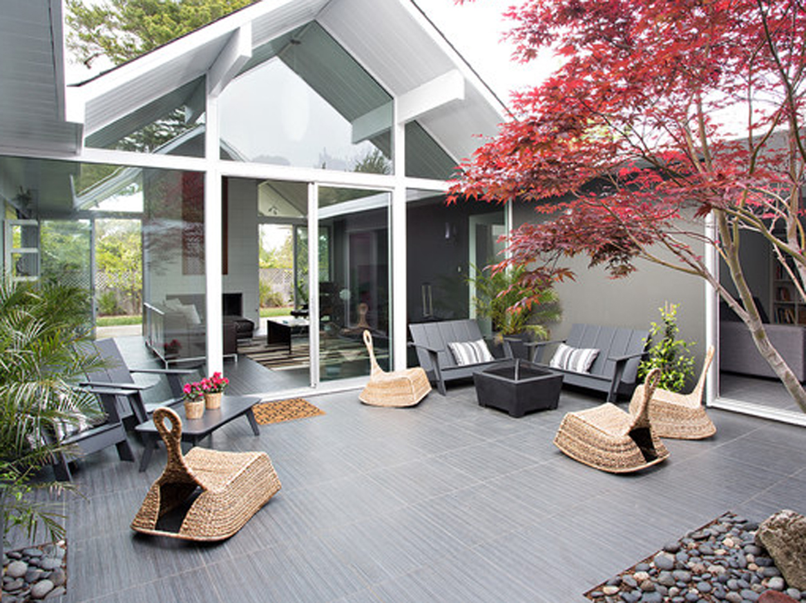 Manly Be Inspired House Making It Eveneasier To Have A Private Getaway Without Leaving Backyards To Die This Patio Is Enclosed Center outdoor Make Your Backyard Private