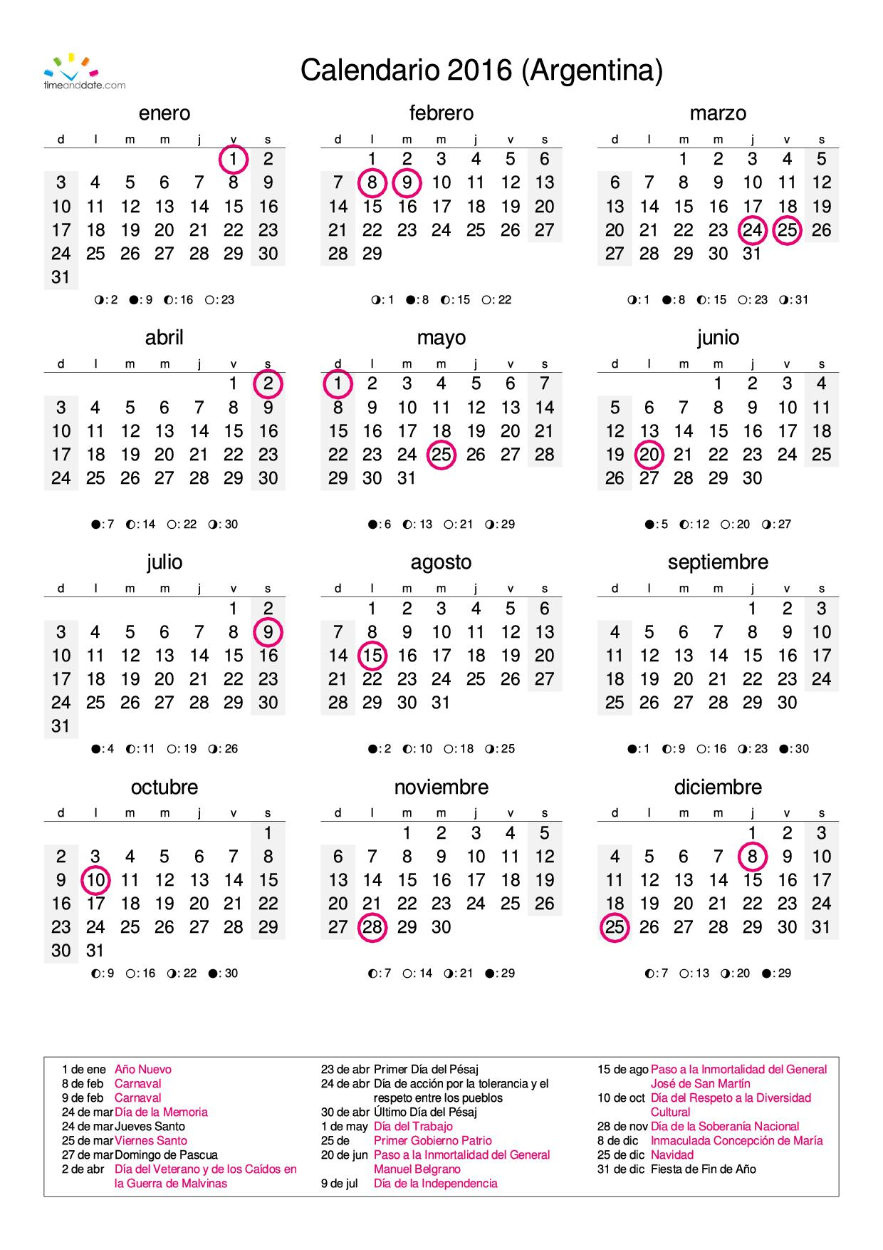 Calendario Mes Febrero Calendario 2016 Febrero Progresar New Style For 2016 2017