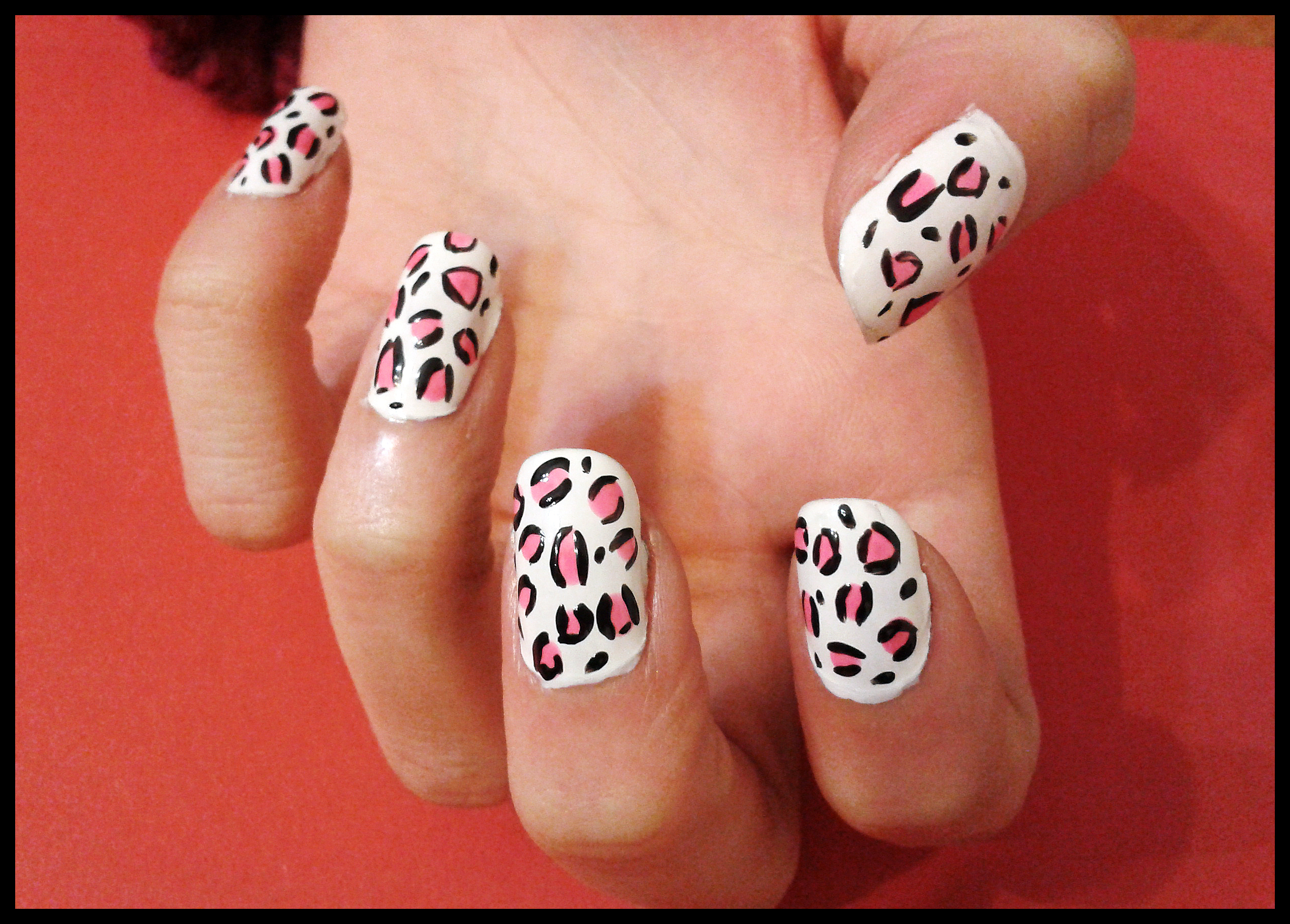 Uñas Decoradas Leopardo Similiar Hacer Disenos En Unas Keywords