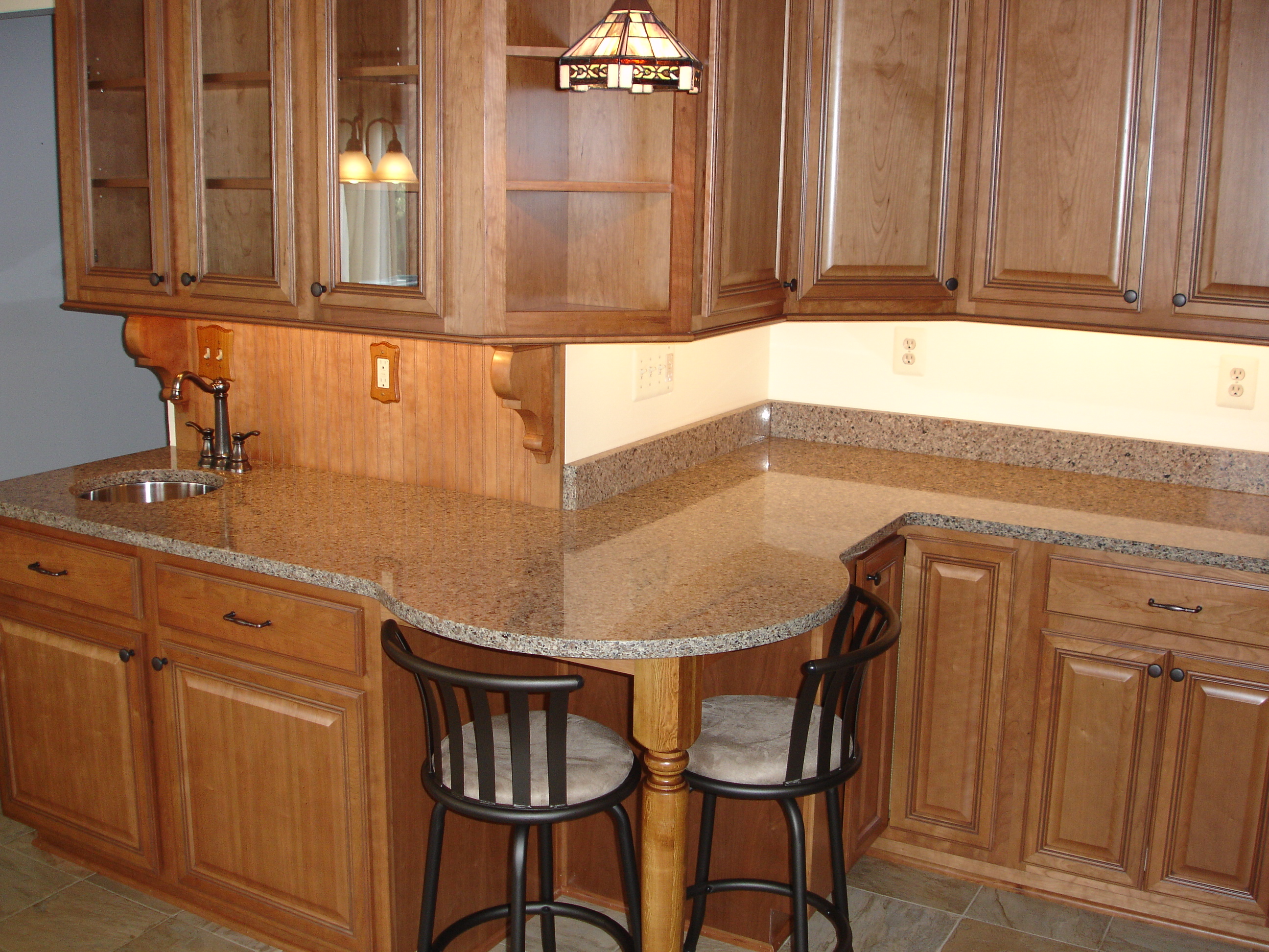 Kitchen Island Cabinets Both Sides Eat In Kitchens Bel Air Construction Maryland
