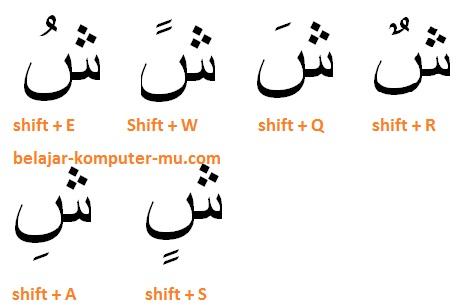 gambar tanda harokat teks bahasa arab microsoft word