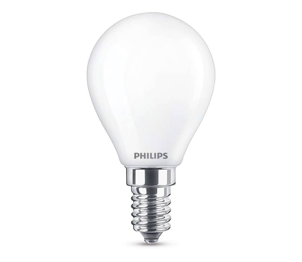 E14 Birne Philips E14 Led Birne Classic 4w 250lm Warmweiss Matt