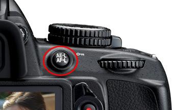 Nikon D3100 AE L AF L