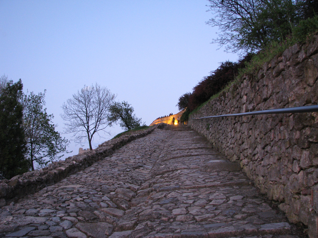 The Stairway to Upper Kalemegdan