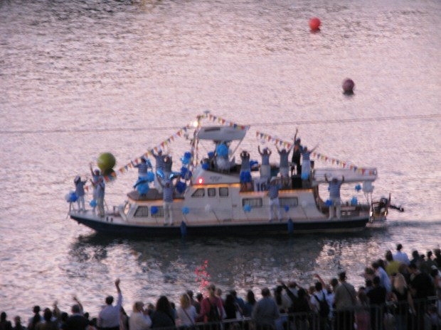 Belgrade boat carnival