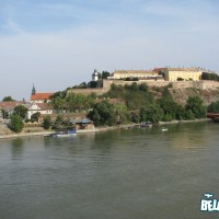 Petrovaradin Fortress from the bridge