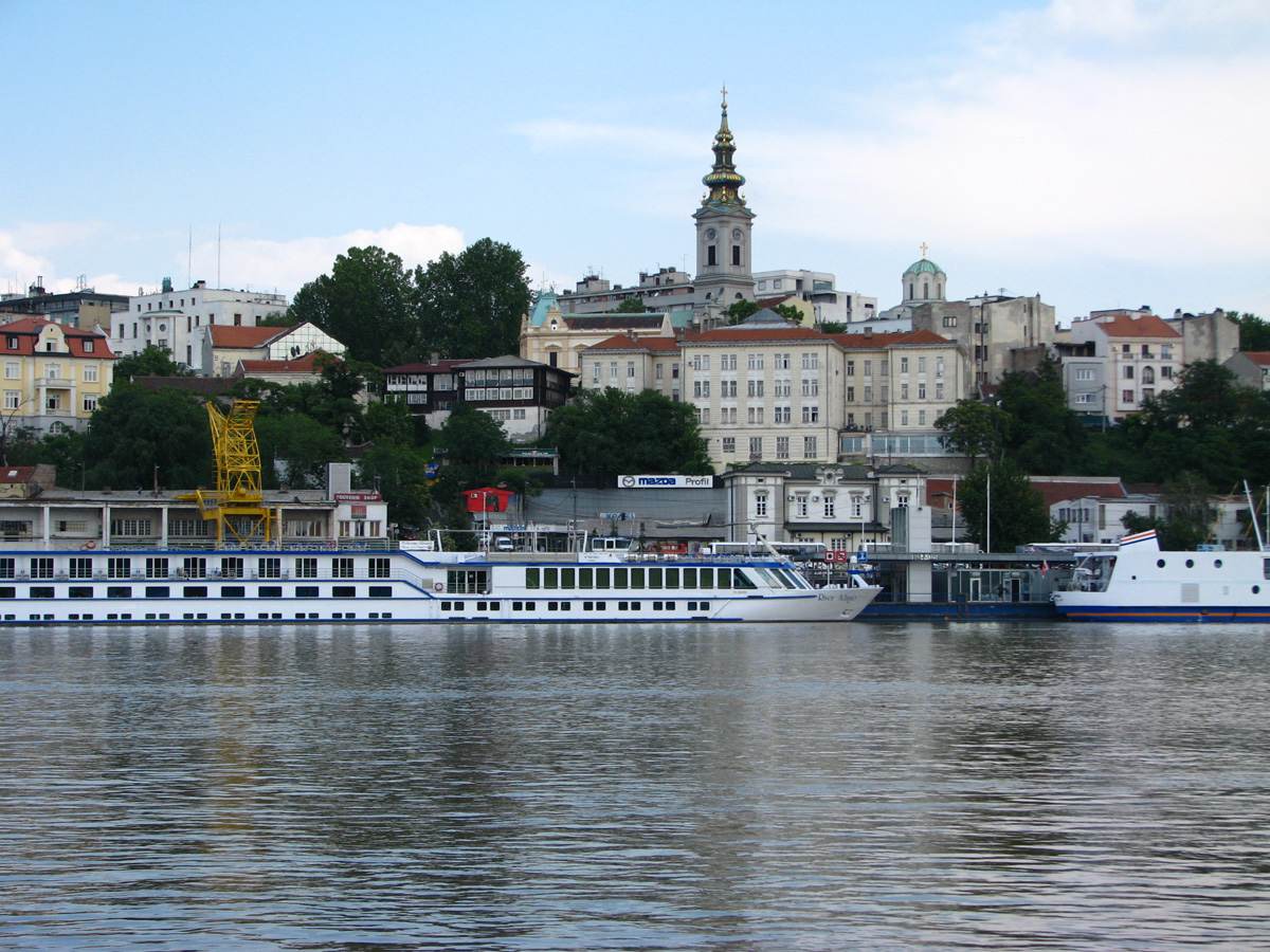 Belgrade Sava port