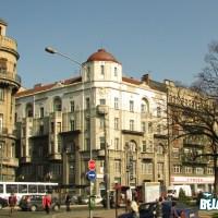 Karađorđeva street near the main bus station