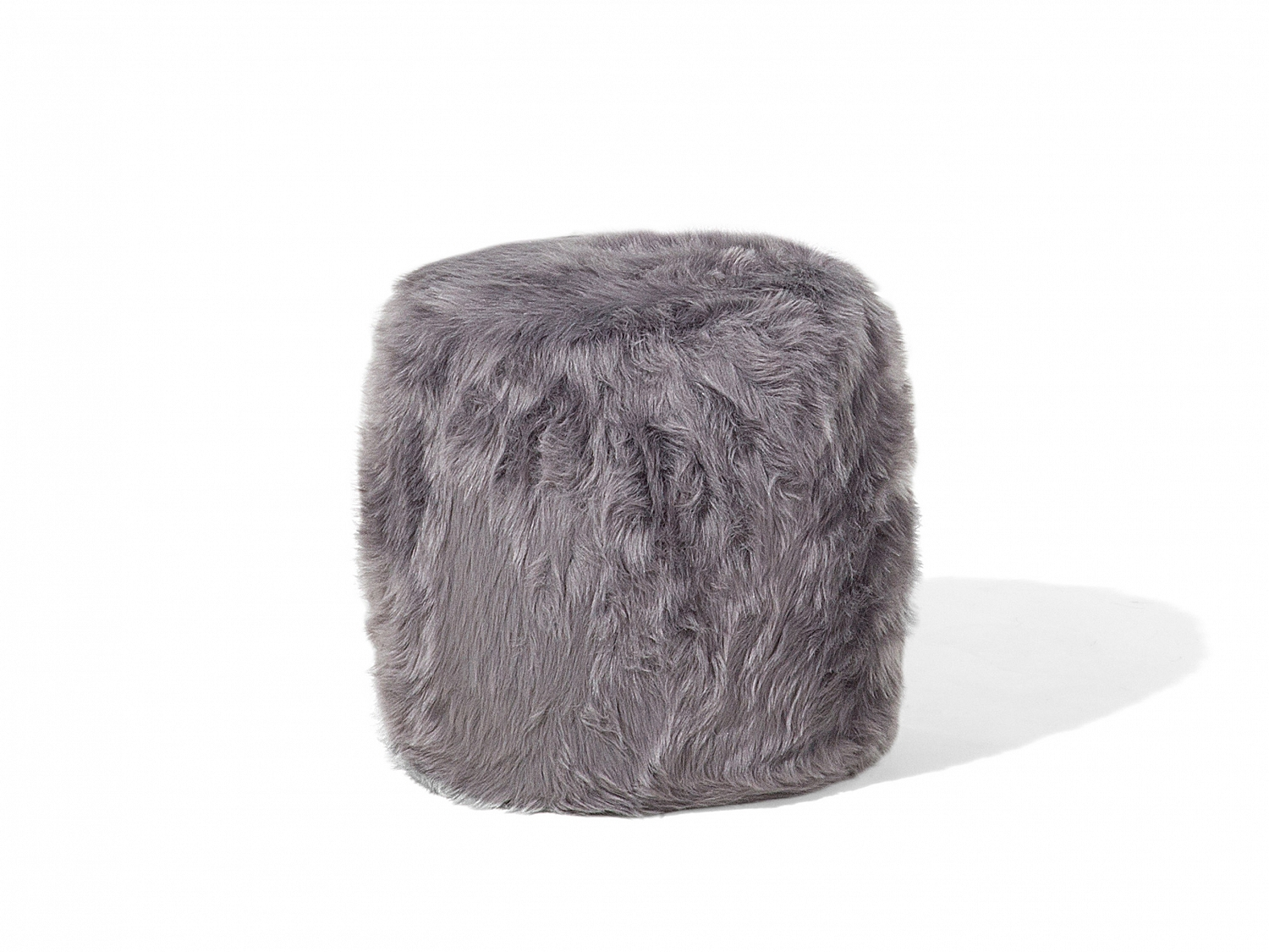 Living Room Stools Uk Ottoman Living Room Stool Pouffe Round Fluffy Shaggy Grey