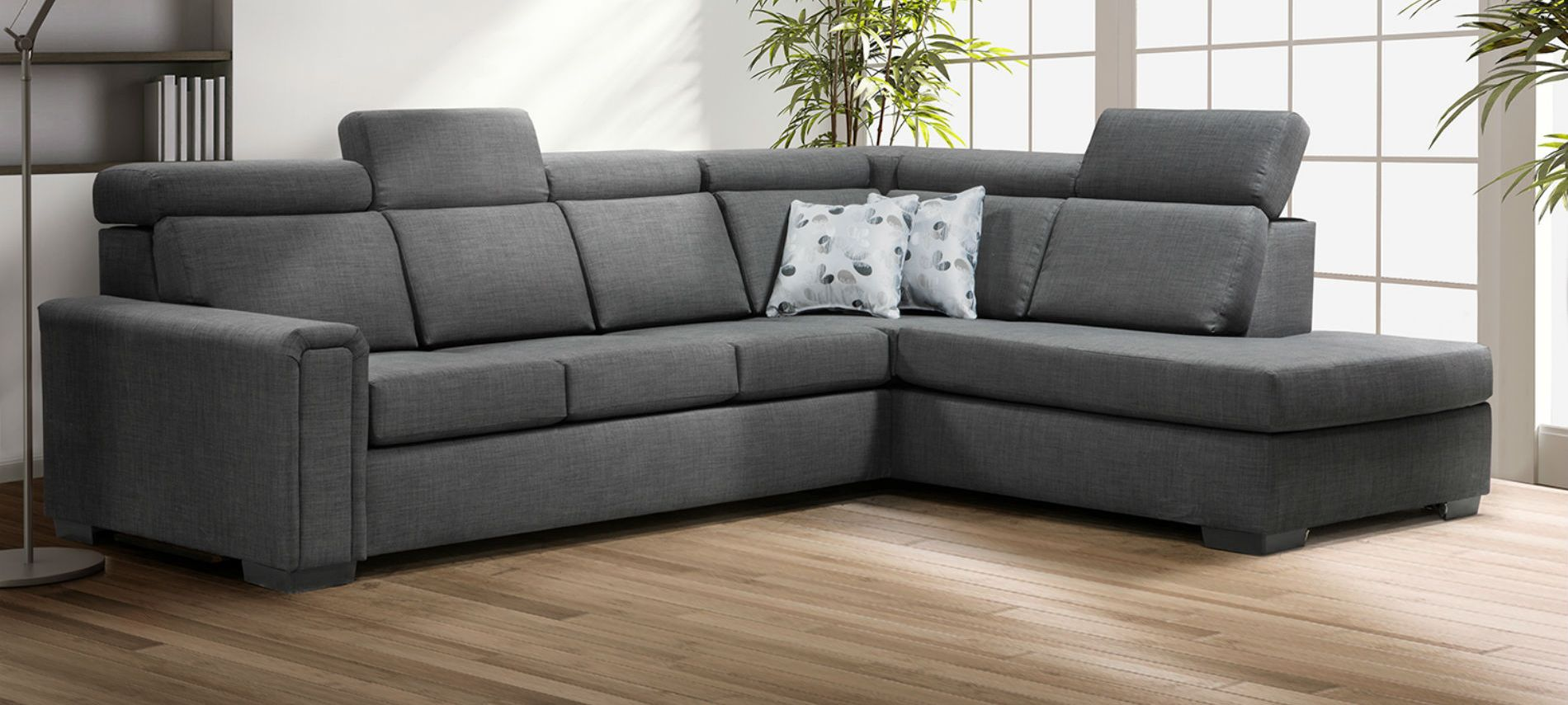 Meuble Chicago Chicago Fabric Sectional Made In Canada Meubles Belisle