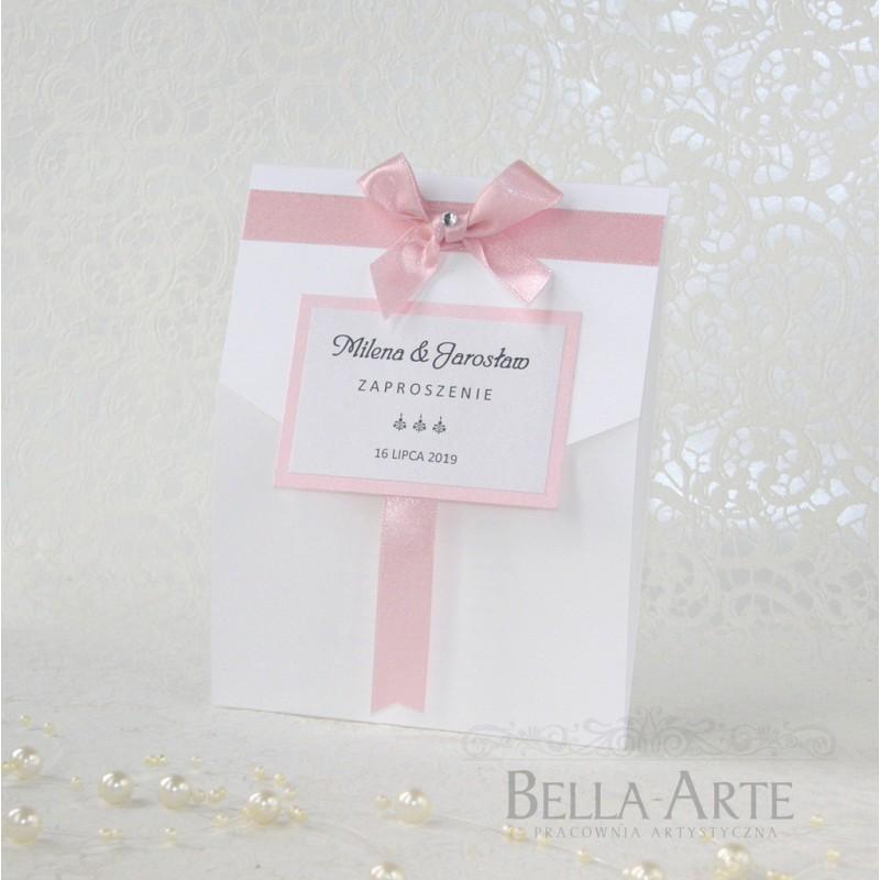 Zaproszenia na ślub Elegante - Bella_arte