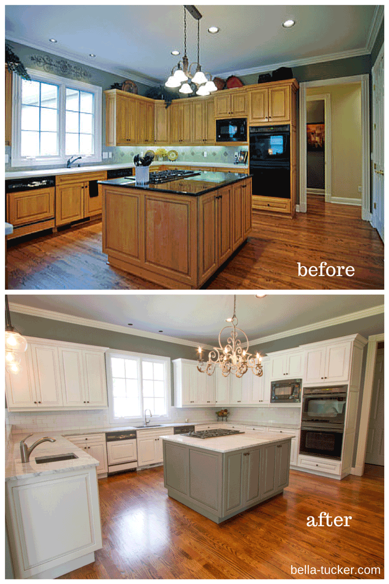 Kitchen Cabinets Painted Grey Painted Cabinets Nashville Tn Before And After Photos